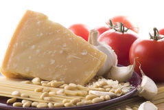 parmesan arkivfoton