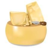 Parmesan Cheese (Parmigiano) Royalty Free Stock Photos