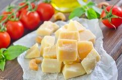 parmesan royalty-vrije stock afbeeldingen