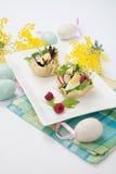Parmesan baskets Royalty Free Stock Image