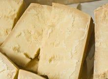 Parmesan cheese. Hard Italian cheese Stock Photos
