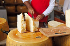 Parmesan cheese. Royalty Free Stock Photography