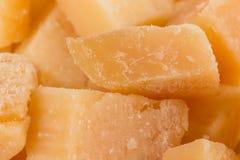 Parmesan cheese close up Royalty Free Stock Images