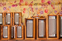 Parmesan Cheese Graters Stock Images