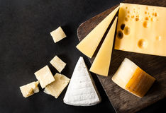 Parmesan cheese isolated Stock Photography