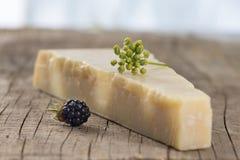 Parmesan cheese Italian traditional cheese Stock Photo