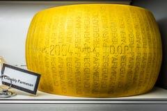 Parmesan Cheese Wheel Stock Photo