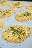 Parmesan Furikake Crisps Stock Image