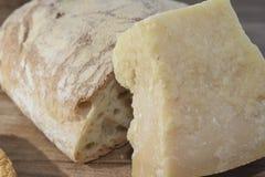 parmesan italien Photographie stock libre de droits