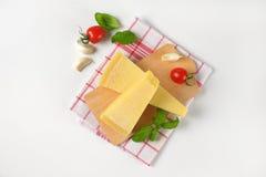 Parmezański ser i jarzynowy garnirunek zdjęcia royalty free