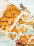 Parmezańscy kierowi ciastka Obraz Royalty Free