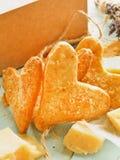 Parmezańscy kierowi ciastka Fotografia Royalty Free