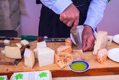 Parmiggiano, quesos italianos Fotografía de archivo