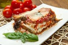 Parmigiana茄子 库存图片