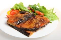 parmigiana γεύματος μελιτζάνας Στοκ εικόνες με δικαίωμα ελεύθερης χρήσης