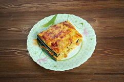 Parmigiana di zucchine Royalty Free Stock Photography