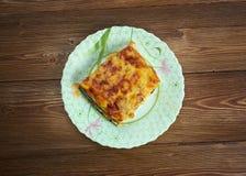 Parmigiana di zucchine Stock Images