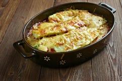 Parmigiana di zucchine Stock Photos