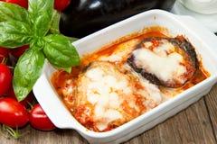Parmigiana eggplant Royalty Free Stock Image