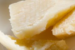 Parmigiano fresco Fotografie Stock Libere da Diritti
