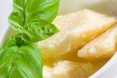 Parmigiano fresco Fotografia Stock