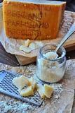 Parmigiano-Reggiano Arkivfoto