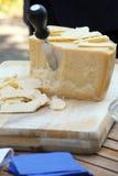 Parmigiano reggiano cheese Stock Image