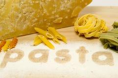parmisan макаронные изделия Стоковая Фотография