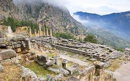 Parnassus landscape royalty free stock photography