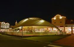 Parndorf在晚上Austria14 库存照片