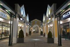 Parndorf на ноче Austria15 стоковые фото