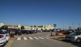 Parndorf Designer Outlet  - MCARTHUR GLEN OUTLET MALL Stock Photo