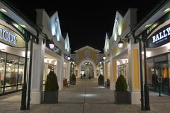 Parndorf at the night- Austria15 Stock Photos