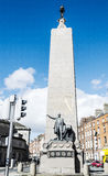 The Parnell Monument at the north end of O'Connell Street Royalty Free Stock Photos