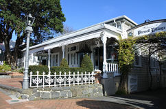Parnell village in Auckland New Zealand. Parnell village in Auckland, New Zealand.Parnell is Auckland`s oldest suburb famed for its boutique style stores, art stock image
