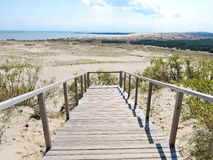 Parnidis dune, Lithuania Royalty Free Stock Image