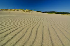 Parnidis dune. Nida. Lithuania. Nida is a resort town in Lithuania, located on the Curonian Spit between the Curonian Lagoon and the Baltic Sea Stock Photography