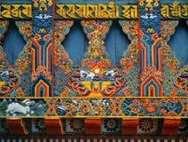 PARO, БУТАН - OKTOBER 2005: Монастырь Taktsang Palphug Стоковые Изображения