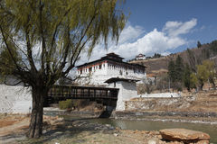 Paro, Bhutan Fotografia Stock