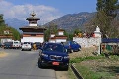 Paro City of Bhutan Royalty Free Stock Image