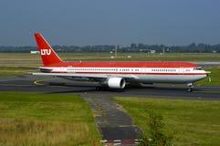 Paro de larga duración Boeing 767 Fotografía de archivo