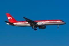 Paro de larga duración Boeing 757 Imagenes de archivo