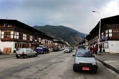 Paro du Bhutan Photos libres de droits