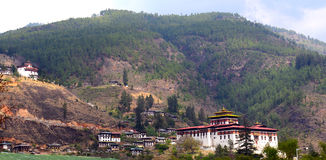 Paro du Bhutan Images stock