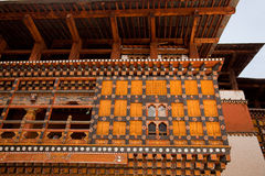Paro Dzong Fotos de Stock Royalty Free