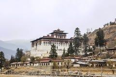 Paro Dzong Stock Afbeelding