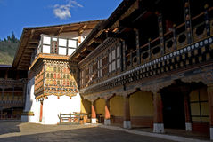 Paro Dzong, Bhutan Royalty Free Stock Photos