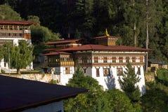 Paro Dzong, Bhutan Royalty Free Stock Images
