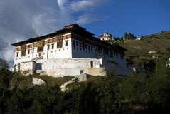 Paro Dzong, Bhutan Royalty Free Stock Photos