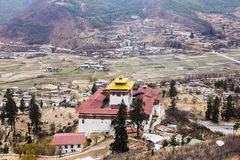 The Paro Dzong Royalty Free Stock Photos